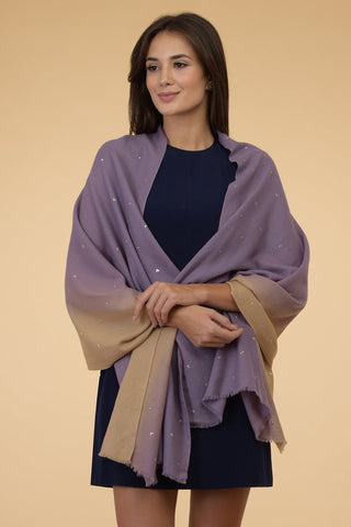 ESTHER MAUVE SCARF