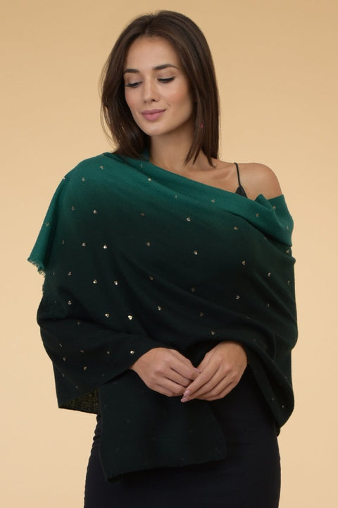 ESTHER GREEN SCARF