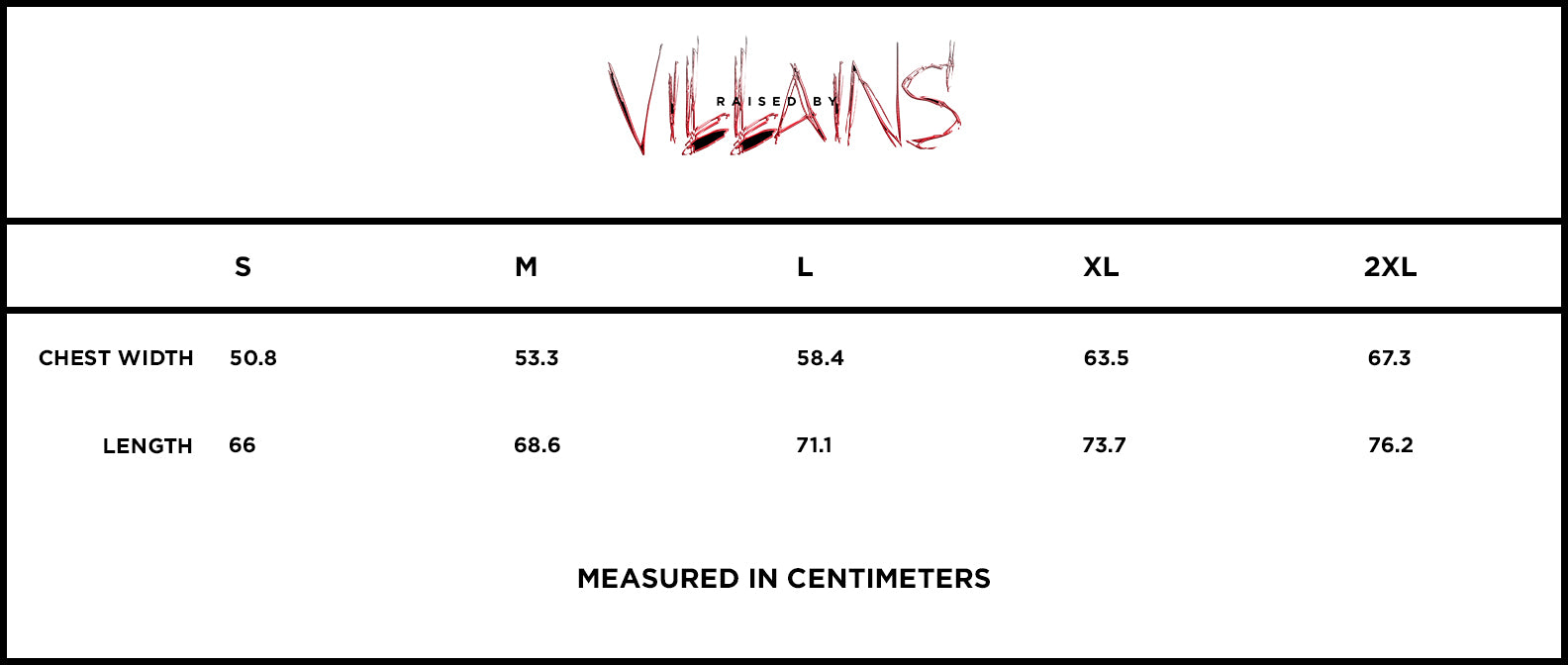 (SOLD OUT) VILLAINS