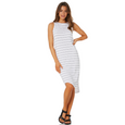 Silent Theory One in Eight Stripe Midi Dress