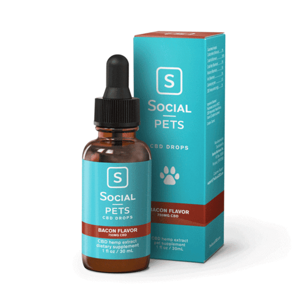 Social CBD Pet Drops 750mg