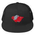 Veterans Poppy Trucker Cap