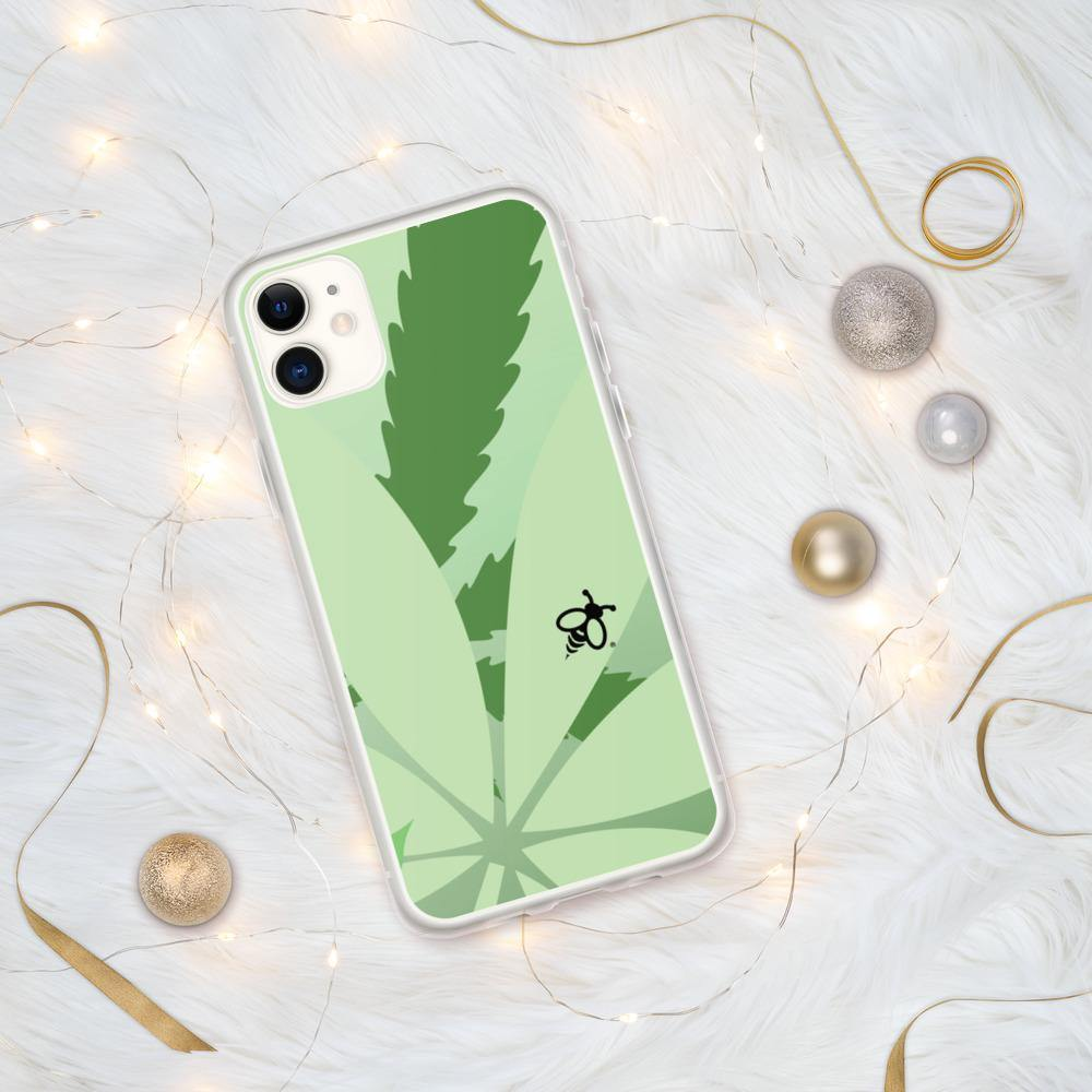 """Bee Leave"" iPhone Case - Green Bee Life"