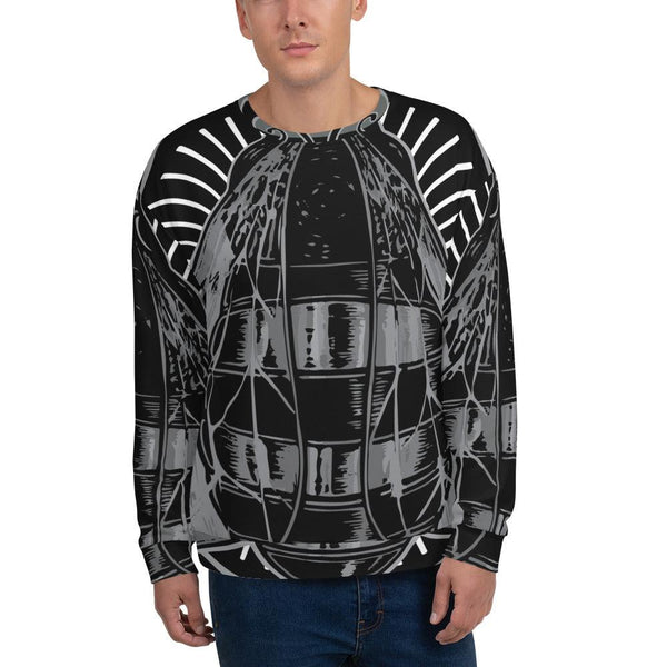 Men's Artisanal All Over Print Sweatshirt