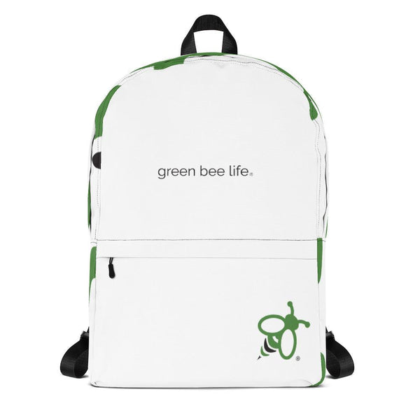 Green Bee Backpack