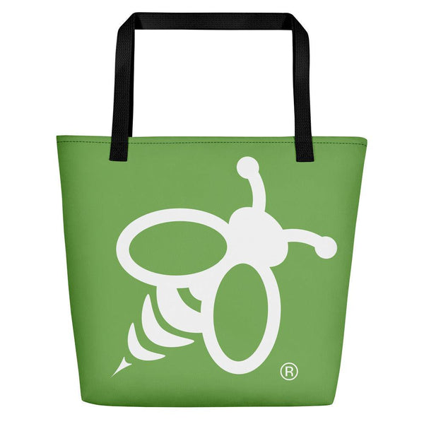 Green Bee Tote