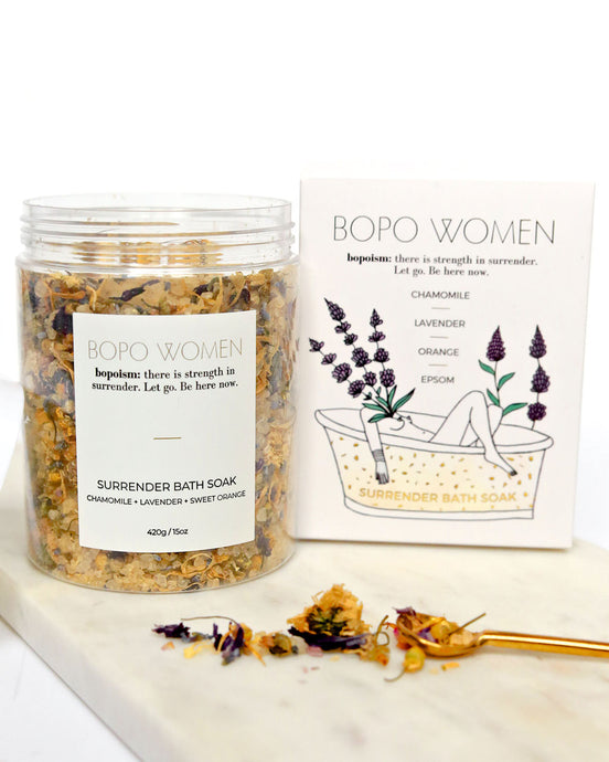 Bopo sacred surrender bath soak