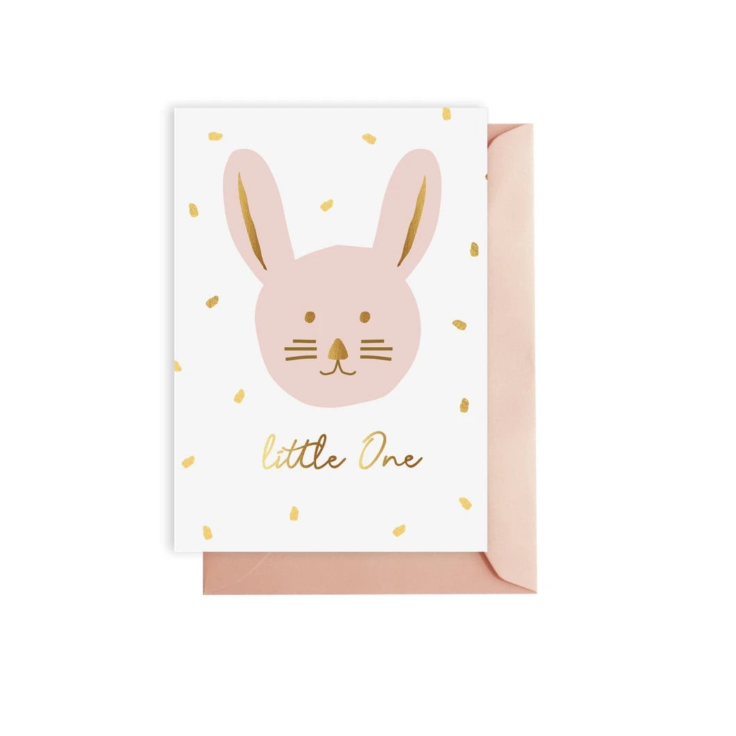 Pink 'Little One' Greeting Card