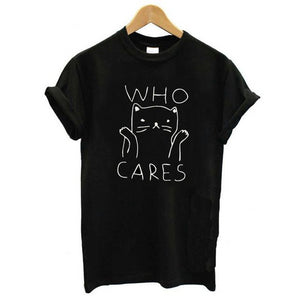 T-shirt who cares 2 coloris