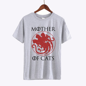 T-shirt Mother of Cats 4 coloris