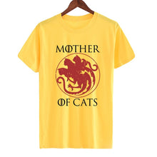 Charger l'image dans la galerie, T-shirt Mother of Cats 4 coloris