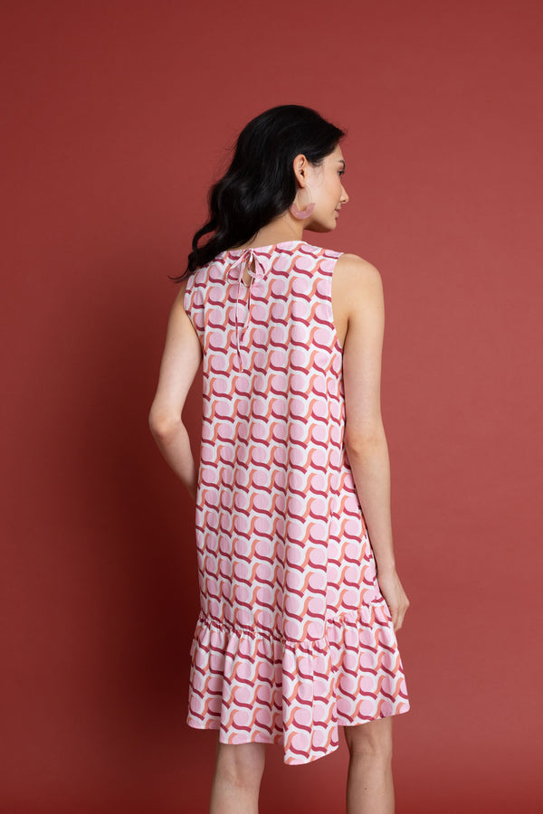 Emma Dress in Maiolica - FINAL SALE