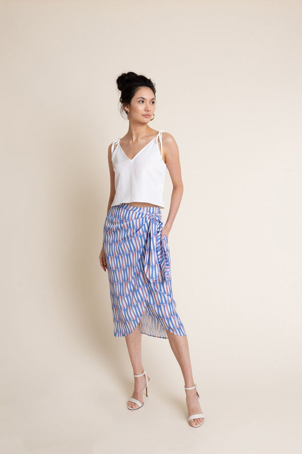 Gabriella Skirt in Sardine