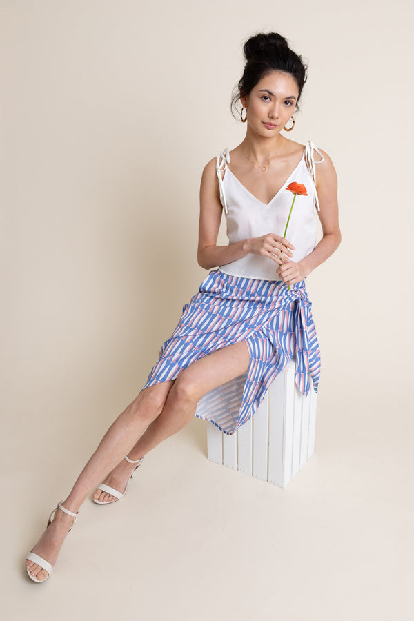 Gabriella Skirt in Sardine - FINAL SALE