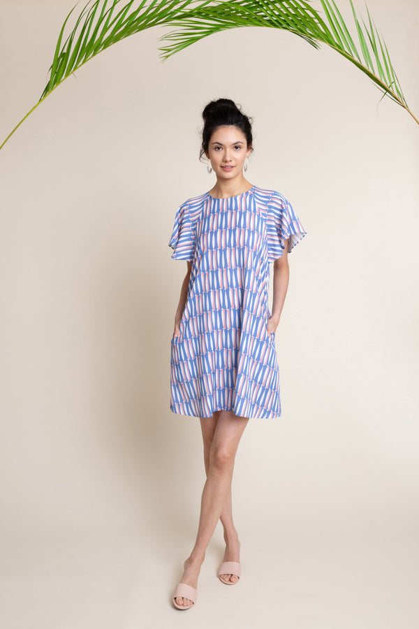 Mara Dress in Sardine
