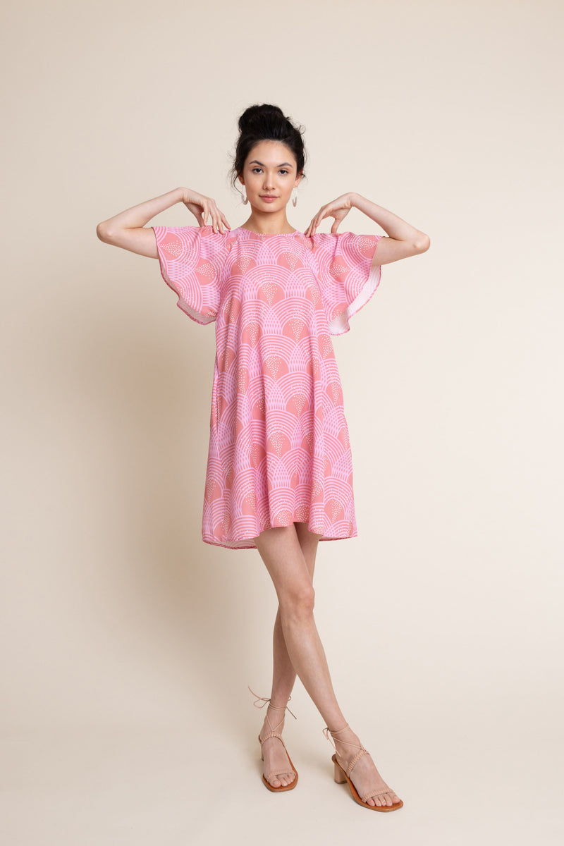 Mara Dress in Sunset