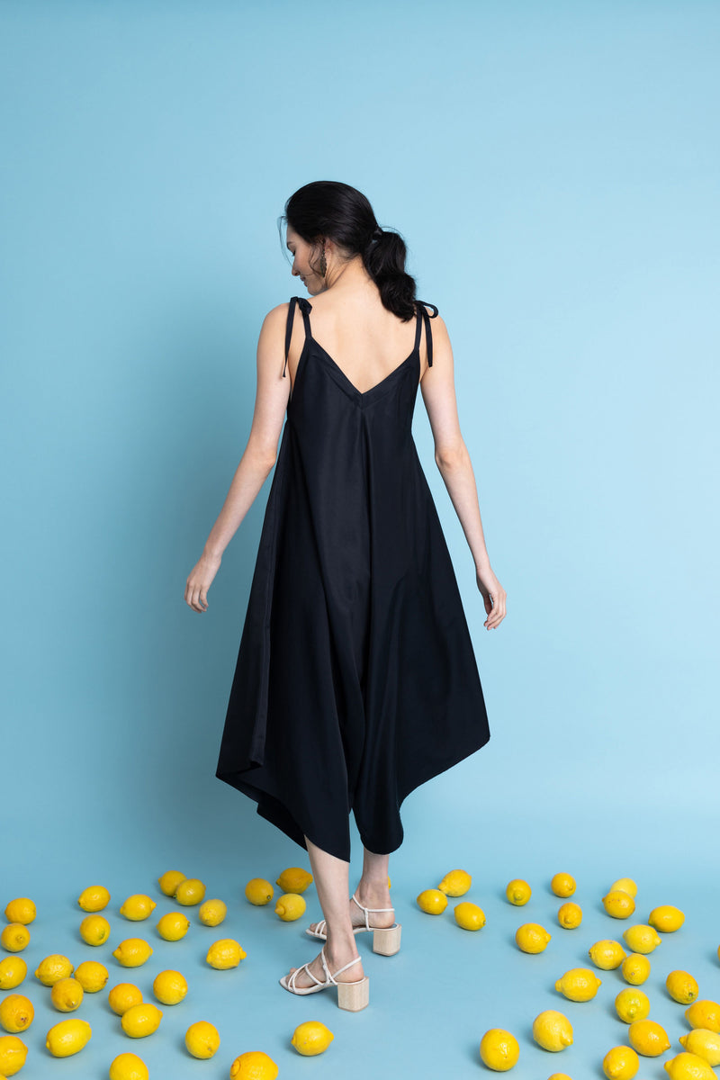 Ninetta Jumpsuit in Midnight Blue