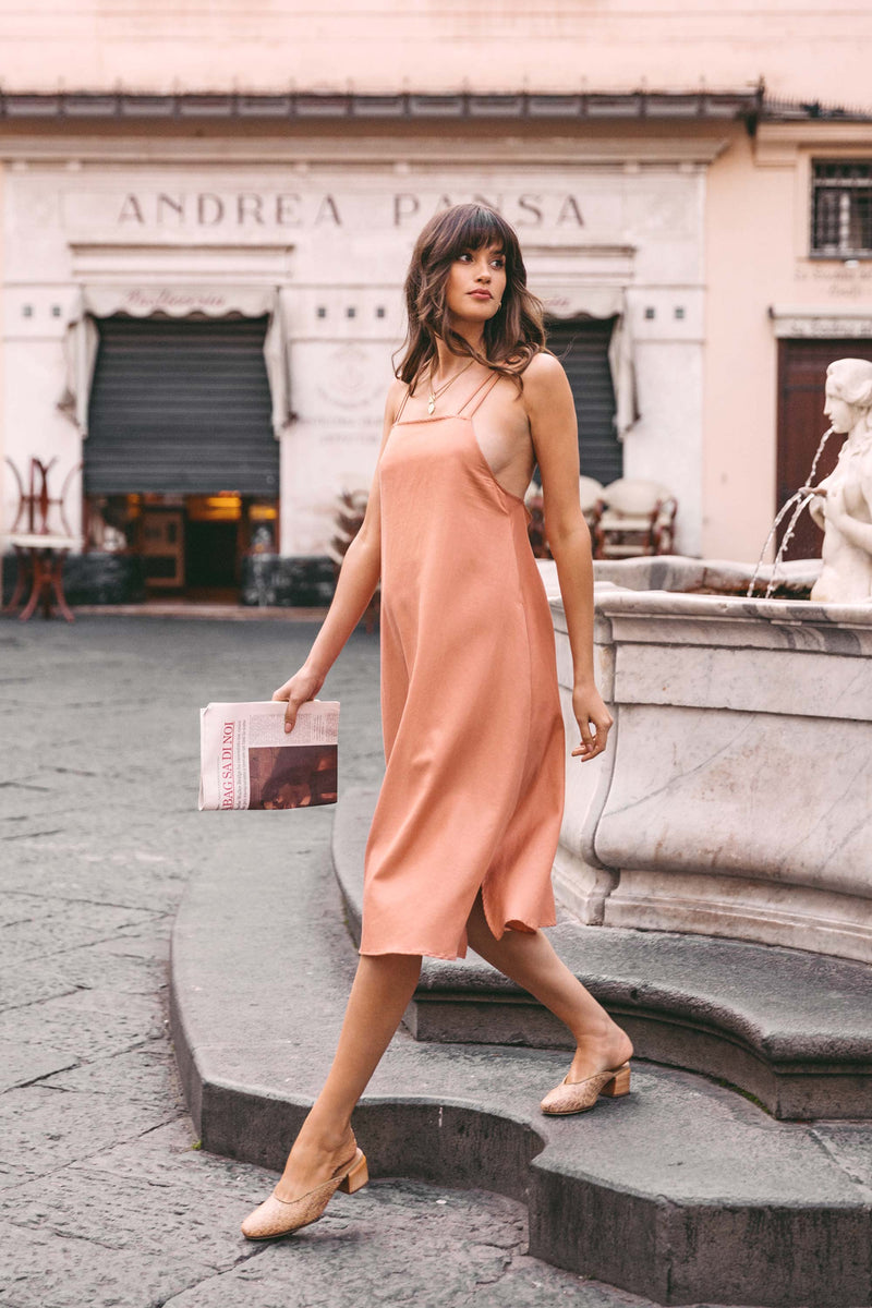 Sachi Dress in Terra Cotta
