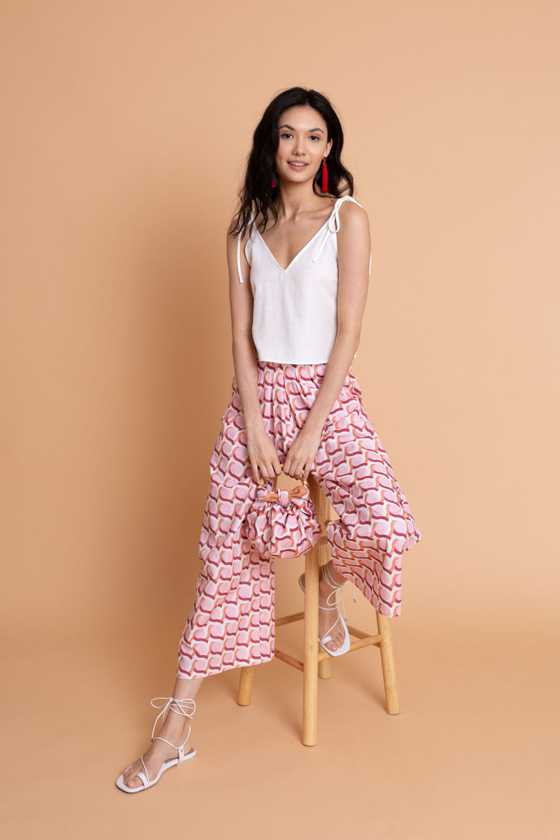 Zoe Pant in Maiolica - FINAL SALE
