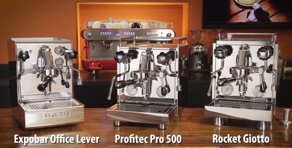 Compare Top 3 Heat Exchange Boiler Espresso Machines 2017