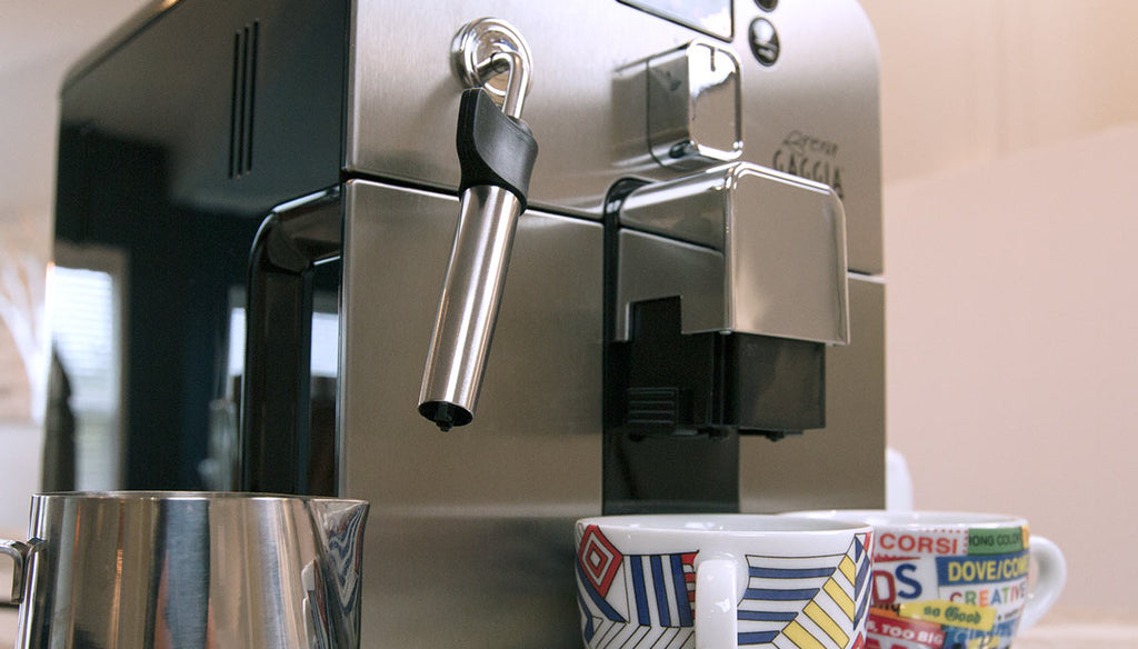 Gaggia Brera Steam Wand Feature