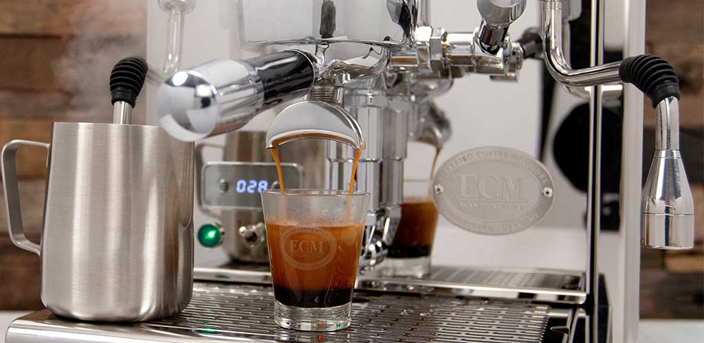 ECM Technika V Profi PID brewing.