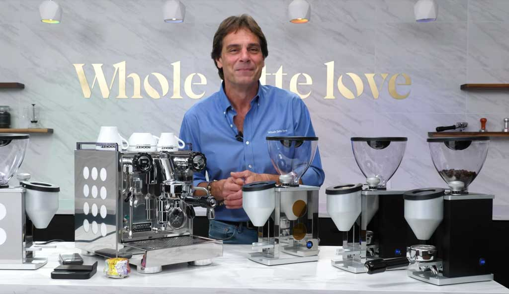 Marc Buckman on the new Whole Latte Love set.