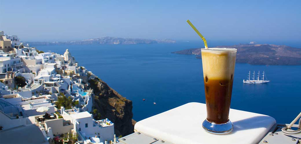 Frappe in Greece.
