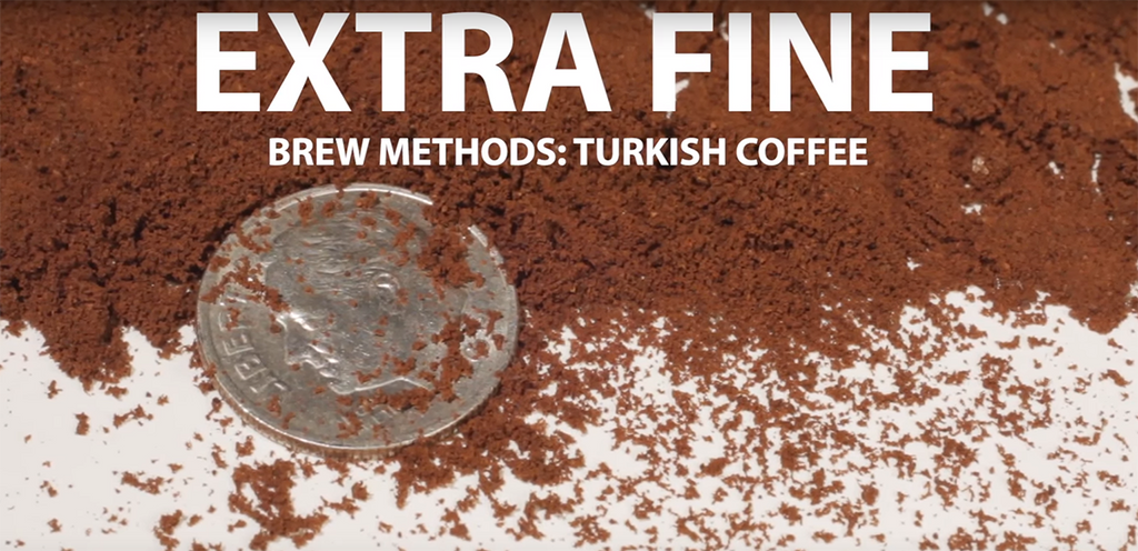 extra fine ground coffee