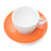Ancap Verona 5.1oz Cappuccino Cup and Saucer in Orange
