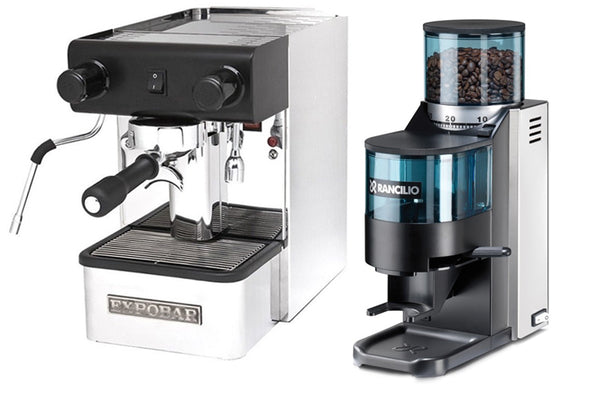 Expobar Office Pulser & Rancilio Rocky Package Base