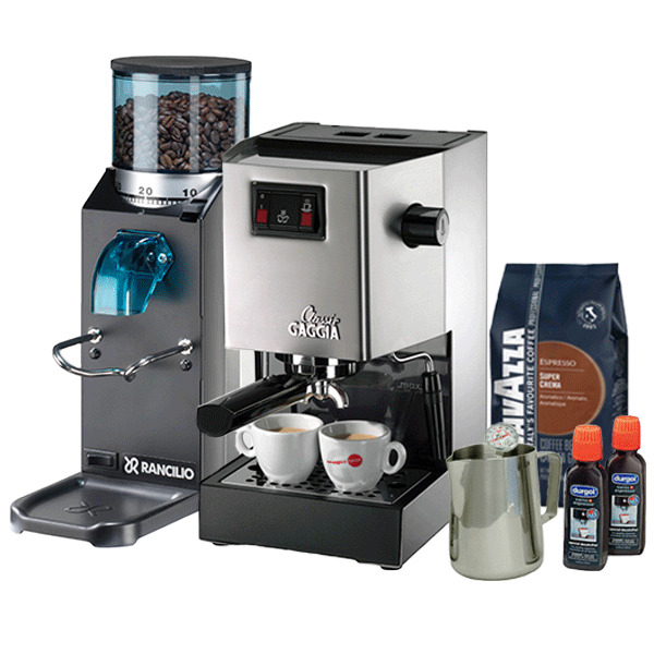 Gaggia Classic And Rocky Essentials Doserless