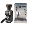 Rancilio Silvia M And Baratza Vario W/Metal Portaholder Base