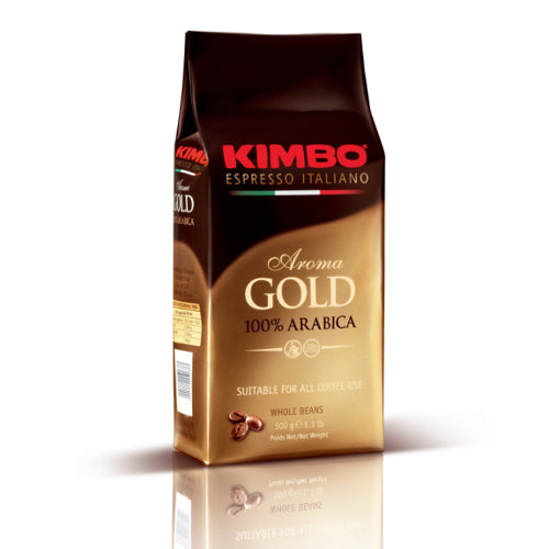 Kimbo Aroma Gold 100% Arabica Whole Bean Espresso Base