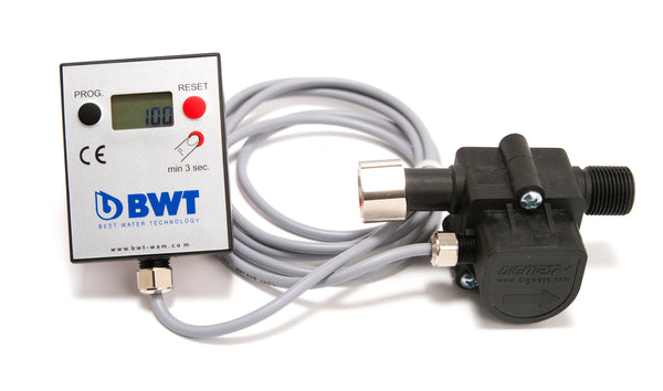 "Bwt 3/8"" Aquameter With Lcd Display Base"