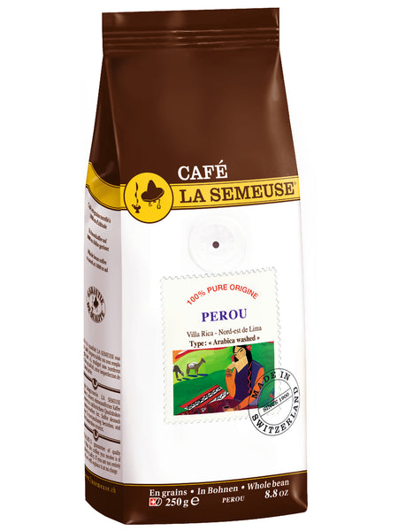 Cafe La Semeuse Perou (Pure Origins) Whole Bean Coffee Base