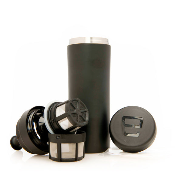 Espro Travel Press For Coffee In Black Base