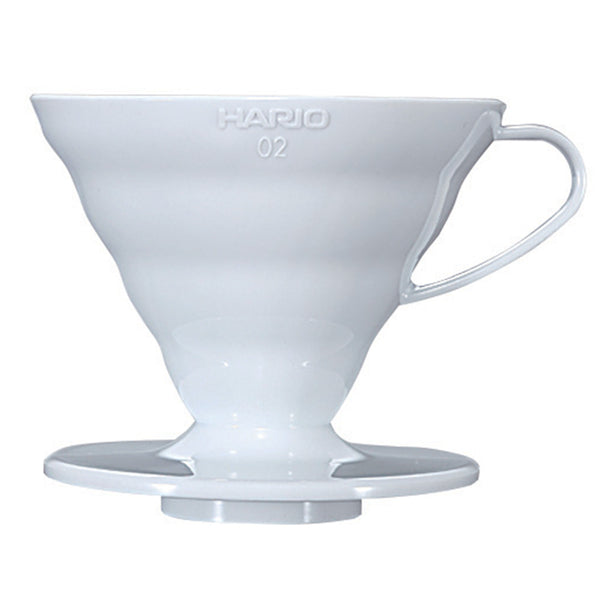 Hario V60 02  White Ceramic Coffee Dripper Base