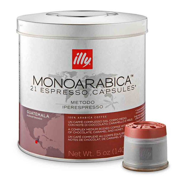 Illy Monoarabica Single Origin Iper Espresso – Guatemala Base