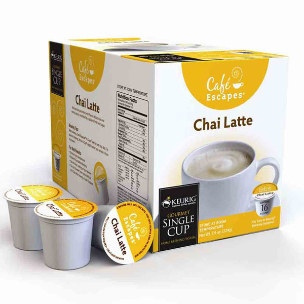 Cafe Escapes Chai Latte K Cup® Packs Base