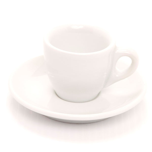 Ancap Verona Espresso Cup and Saucer 2.5oz in White