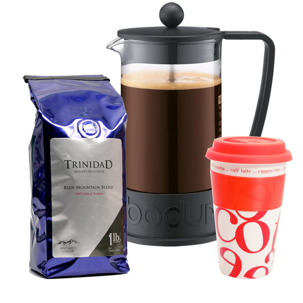 Complete Coffee Press Gift Set Base