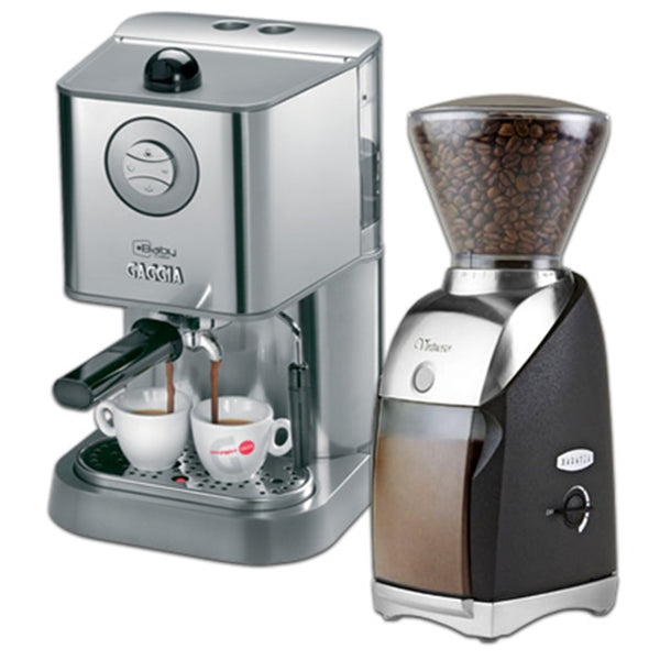 Gaggia Baby Class And Baratza Virtuoso With Preciso Burrs Base