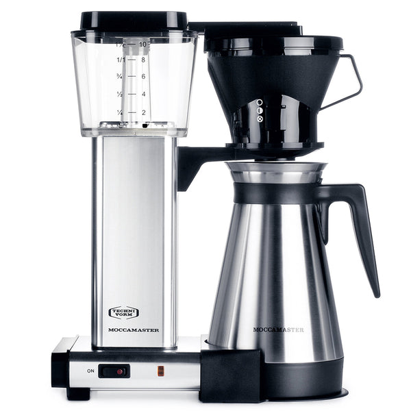 Technivorm Moccamaster Kbt741 Polished Silver Coffee Maker Base