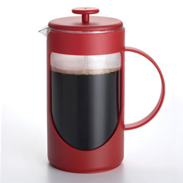Bonjour Ami-MatinT 3 Cup Unbreakable French Press in Red