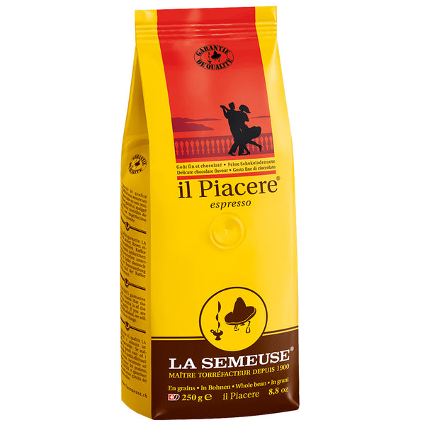 Cafe La Semeuse Whole Bean Il Piacere Espresso Coffee Base