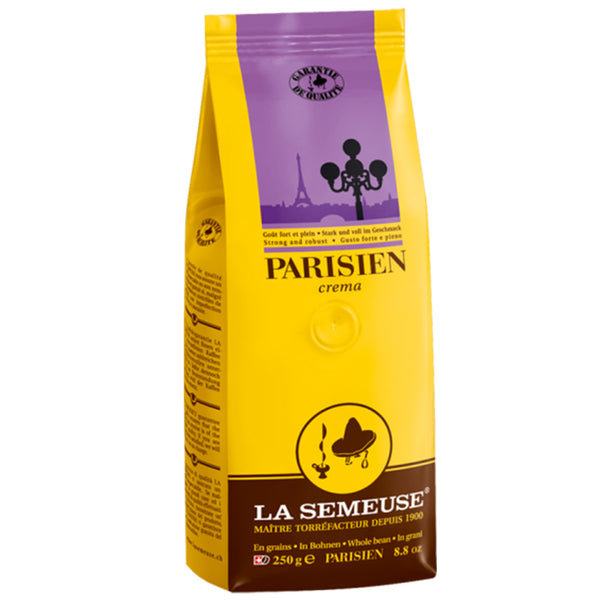 Cafe La Semeuse Whole Bean Parisien Crema Coffee Base