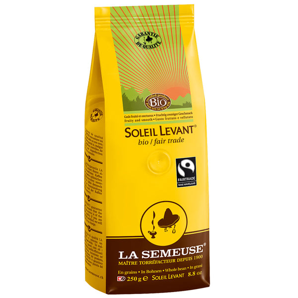 Cafe La Semeuse Whole Bean Soleil Levant Fair Trade Coffee Base