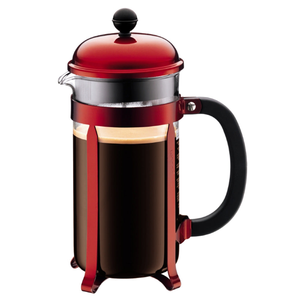 Bodum Red Chambord 8 Cup 34oz French Press Coffee Maker