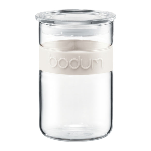 Bodum Presso 34 fl oz Storage Jar in White